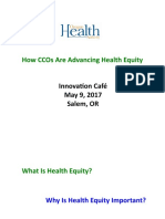 Innovation Cafe Heath Equity May 2017