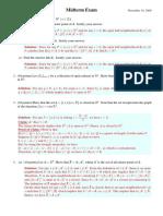 2006-AdvancedCalculus-MidtermExam
