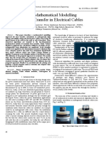 Modelo Matematico Transferencia Calor en Cables