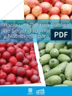 Hacia Politica Publica SAN Bogota