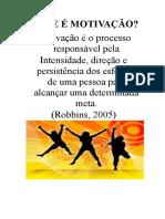 O QUE E MOTIVACAO.docx