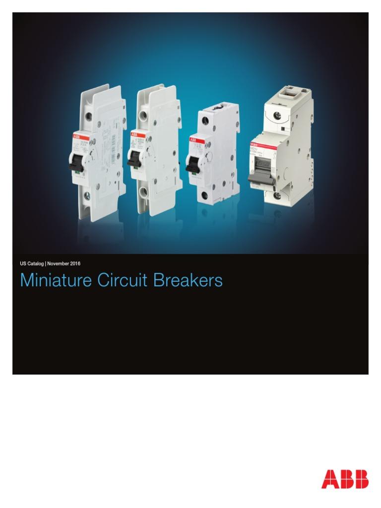 Miniature Circuit Breaker | Switch | Power Engineering