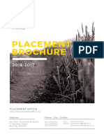 IIT Bombay Placement Brochure