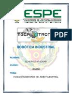 Evolucion Robot Industrial