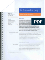 Indian Seed Industry - Rabobank Report