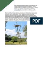 Contoh Model Pionering Menara Pandang Yang Disajikan Lengkap Dengan Gambar Dan Foto Ini Adalah Model
