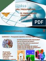 3- Presupuesto operativo