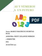 Letras y Números Para El Futuro