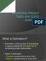 Estimation (1)