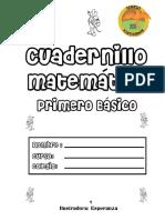 Cuadernillo Matematica Primero Basico