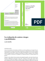 Badilla- Avances y Desafíos en La Evaluación Educativa