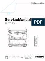 Philips AS 9400 Service Manual