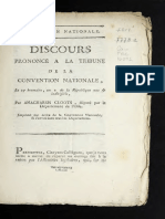 Discurso Convention Nationale, Le 27 Brumaire, l'an II (1793)