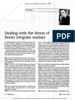 Dealing With the Threat of Soviet Irregular Warfare