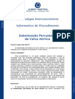 Informativo Substituicao Perutanea Portugues