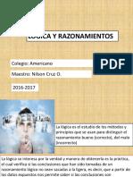 Lógica y Razonamientos (Presentación)
