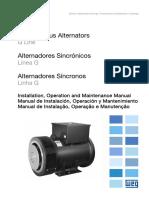 Manual de Instalación, Operación y Mantenimiento WEG.pdf