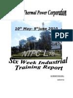 Report on ntpc