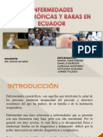 Enfermedades Catastroficas y Raras en Ecuador