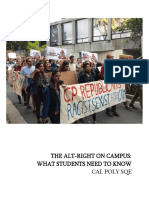 THE ALT-RIGHT AT CAL POLY
