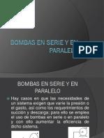Bombas en Serie-paralelo