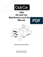 Club Car DS Maintenance and Service Manual