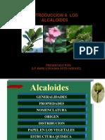 2902281 Introduccion a Los Alcaloides