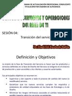 Sesion 4- Transicion Del Servicio