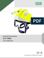 Manual de Funcionamiento Gallet F2 X-Tream