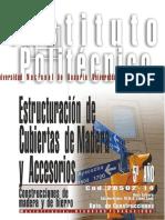 20502-14 CONSTRUCCIONES de MADERA Y de HIERRO Estructuracion de Cubiertas de Madera y Accesorios