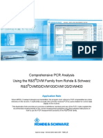 Rhode Schwartz PCR Measurements