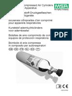 Manual Botellas de Aire Comprimido MSA