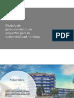 Modelo de Gerenciamiento de Proyectos Para La Sustentabilidad