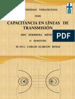 Capacitancia lineas de transmision