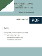 SEMINÁRIO - granulometria