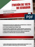 Constitución de 1929 de Ecuador