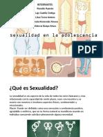 Sexualidad en La Adolescencia Sexualidad