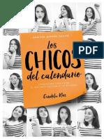 Los Chicos Del Calendario 3. Mayo , Junio y Julio de Candela Rios.