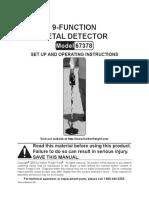 Manual Detector 67378