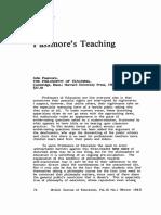 Passmore - John - The Philosophy of Teaching - 1980 English