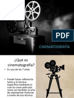 CINEMATOGRAFÍA