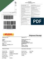Shipment Document Serv Let