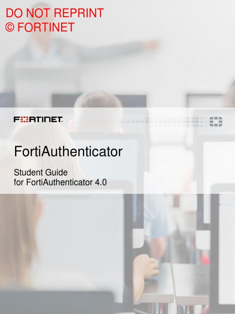 FortiAuthenticator Student Guide-Online   Radius   Java