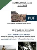 Aula - Beneficiamento de Minerios