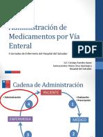 Administracio_n de Medicamentos Por Vi_a Enteral Jornadas Enfermeri_a 2014