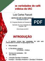 As novas variedades de café arábica do IAC - Seminário 38° CBPC