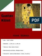 """Analicéis de la obra """"El Beso"""" Gustav Klimt"""