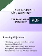F&B Presentation