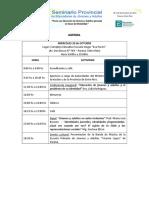 Agenda Seminario Provincial