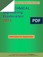 GEE 2011 Exam Brochure